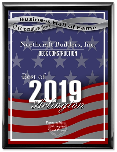 2019 Best of Arlington Deck Award